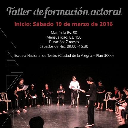 taller de formación actoral web